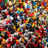 Lego minifigures at Cartoomics 2014 Royalty Free Stock Image