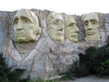 Lego Mount Rushmore Stock Image