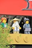 LEGO Ninjago premiere carpet Royalty Free Stock Image