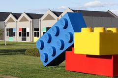 Lego office building in Billund, Denmark Royalty Free Stock Images