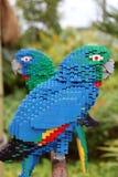 Lego Parrot en Legoland Imagen de archivo