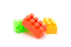 Lego plastic building blocks Stock Photography