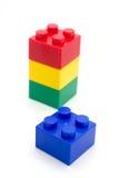 Lego plastic building blocks Royalty Free Stock Images