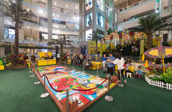 Lego promotion at the Pavilion mall in Kuala Lumpur city Royalty Free Stock Photos