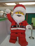 Lego Santa στοκ φωτογραφίες