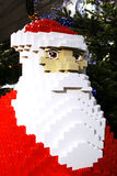 Lego Santa Claus. A funny lego construction of Santa Claus at the Sony Center, Berlin. Photo taken on: December 5th 2011 Stock Image