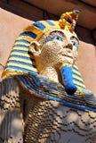 Lego sculpture of an Egyptian Pharaoh Royalty Free Stock Photography