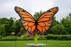 Lego sculptures on display at the Reiman Gardens at Iowa State University Royalty Free Stock Photos