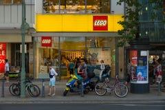 LEGO Shop em Kurfuerstendamm. Fotos de Stock Royalty Free