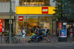 LEGO Shop at Kurfuerstendamm. Royalty Free Stock Photos