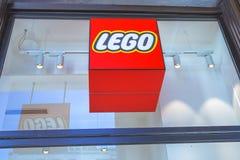 Lego sklepu logo Obrazy Stock