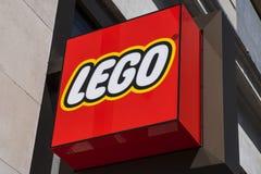 Lego sklepu znak Zdjęcie Stock