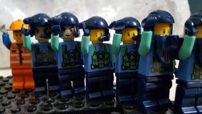 Lego Soldiers Stock Fotografie
