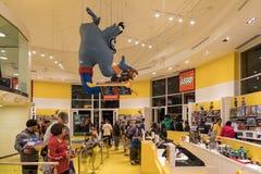 Lego-Speicher im berühmten im Stadtzentrum gelegenen Disney-Bezirk, Disneyland bezüglich Lizenzfreies Stockfoto