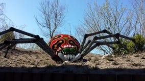Lego spider. Huge Lego spider in Legoland Billund Denmark Stock Photos