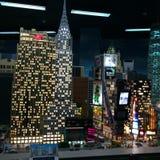LEGO-stad Stock Afbeelding
