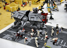 Lego Star Wars stockfotos