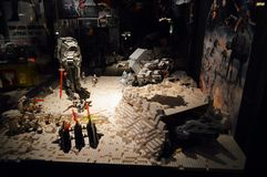 Lego Star Wars - battaglia sul pianeta caldo Immagini Stock
