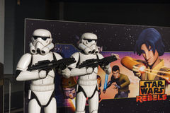 LEGO star wars. Each year, one of the largest LEGO fans in the world takes place in Jaarbeurs in Utrecht, Netherlands. The exhibition is called LEGOWORLD Stock Photo