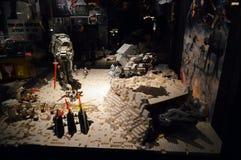 Lego Star Wars - Kampf auf dem Planeten heiß Stockbilder