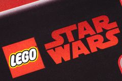 Lego Star Wars logo Obrazy Royalty Free