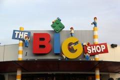 Lego Store Fotografering för Bildbyråer