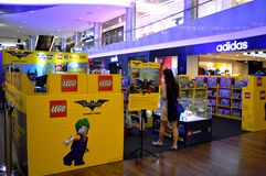 Lego Store Stock Image