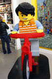 LEGO store Copenhagen. Copenhagen is the capital and most populated city of Denmark, and second largest in Scandinavia Stock Photo
