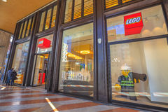 Lego Store Milan Stock Image