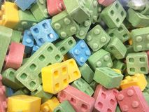 Lego Sugars Fotografie Stock