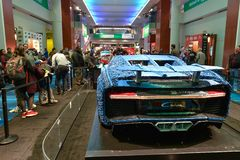 LEGO Technic Bugatti Chiron arkivfoton