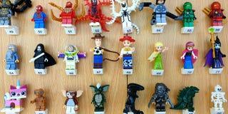 Lego teckendiagram royaltyfri foto