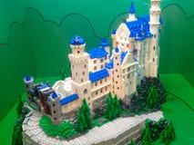 Lego tegelstenar arkivbild