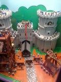 Lego tegelstenar arkivfoton