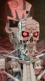 Lego Terminator Royalty-vrije Stock Afbeeldingen