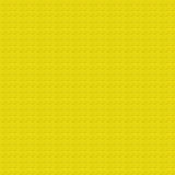 Lego Texture giallo Fotografia Stock