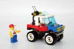 Lego Town stellte kein ein 6641, ` 4-Wheelin LKW lizenzfreies stockbild