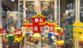 LEGO toys in LEGOWORLD Stock Images