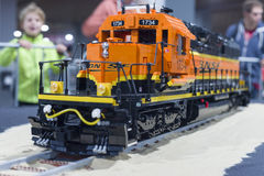 LEGO train Stock Image