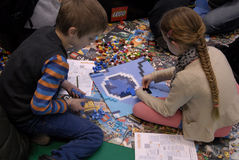 LEGO-VÄRLD I BELLA-MITT Royaltyfri Fotografi