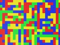Lego van de textuur Stock Afbeeldingen