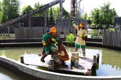 Lego Vikings Royaltyfri Foto