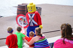 Lego water show Stock Image