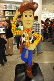 Lego Woody in downtown Disney Stock Photography