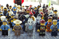 LEGO-Zahlen Stockfotos