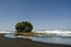 Legok Jawa Beach. West Java - Indonesia Royalty Free Stock Photography