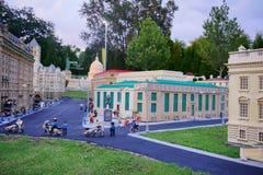 Legoland佛罗里达Miniland美国 库存图片