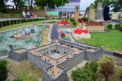 Legoland佛罗里达Miniland美国 图库摄影