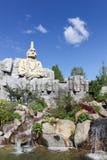 Legoland公园在Billund,丹麦 免版税库存照片