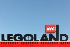 Legoland手段在Billund,丹麦 免版税库存图片